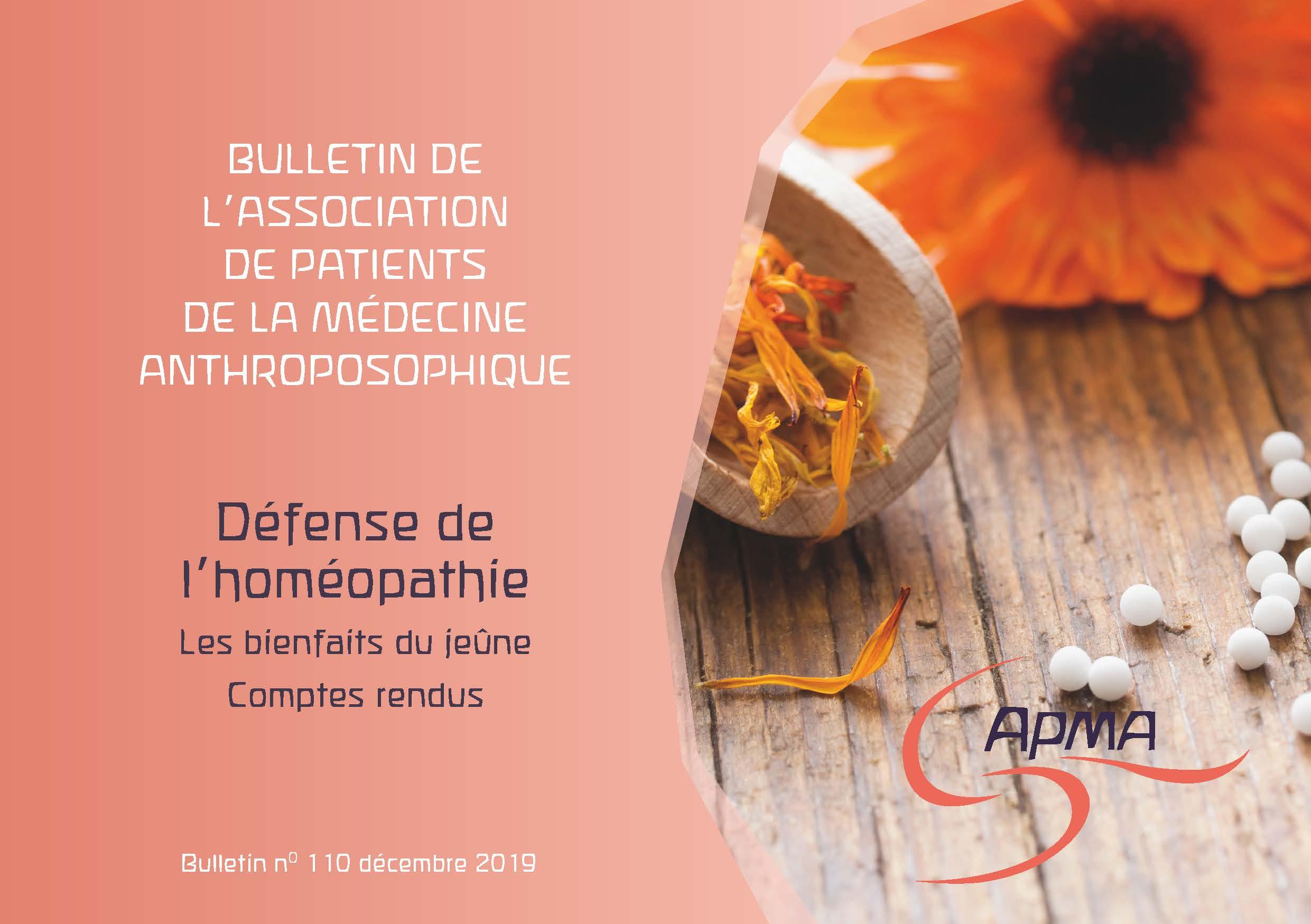 couv APMA Bulletin n°110 décembre 2019-2