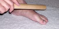 bâton pied